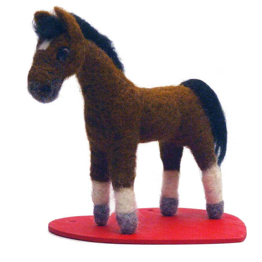 Needle Felt Animal Horse
