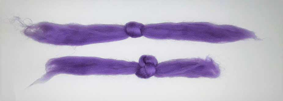 Felt bead making knots